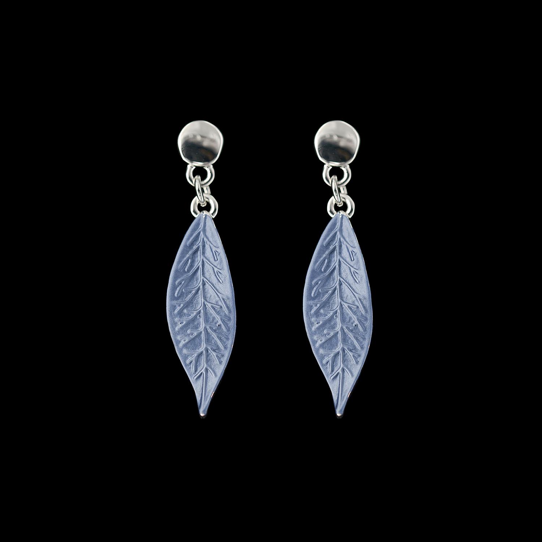 Modeschmuck Ohrstecker Blätter