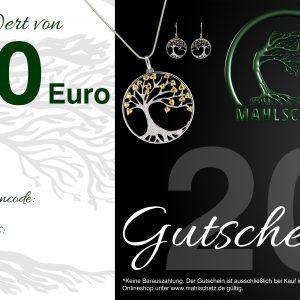 EUR 20,- Gutschein (Onlineshop)
