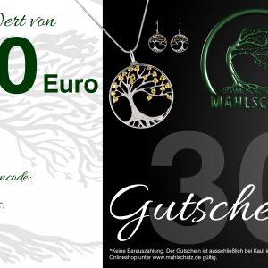 EUR 30,- Gutschein (Onlineshop)