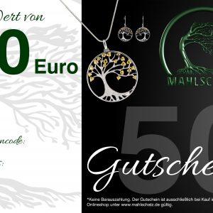 EUR 50,- Gutschein (Onlineshop)